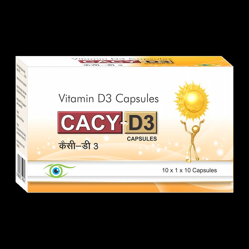 Cacy D3 (Soft Gels)