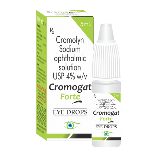 Cromogat Forte (Eye Drops)