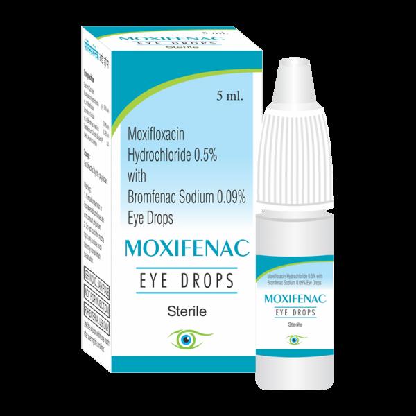 Moxifenac (Eye Drops)