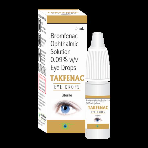 Takfenac (Eye Drops)
