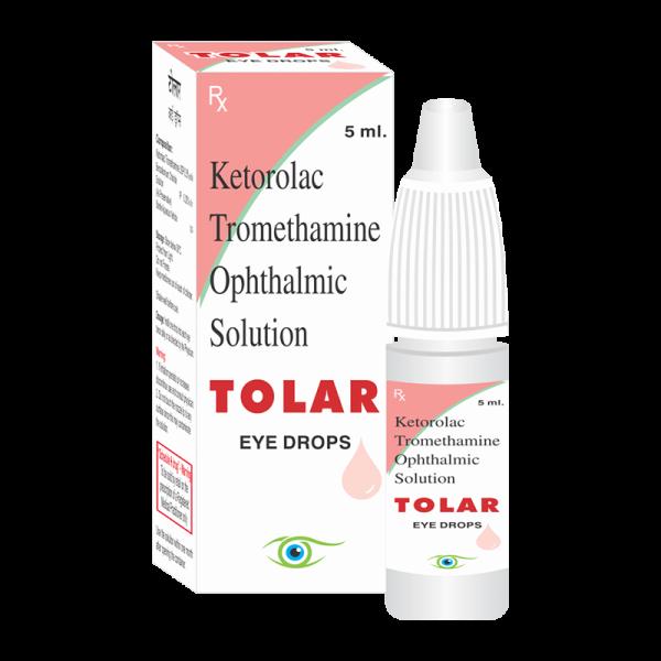 Tolar (Eye Drops)