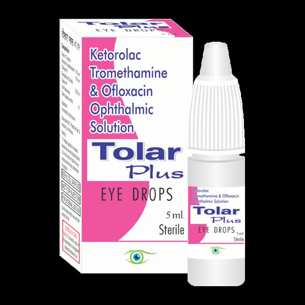 Tolar Plus (Eye Drops)